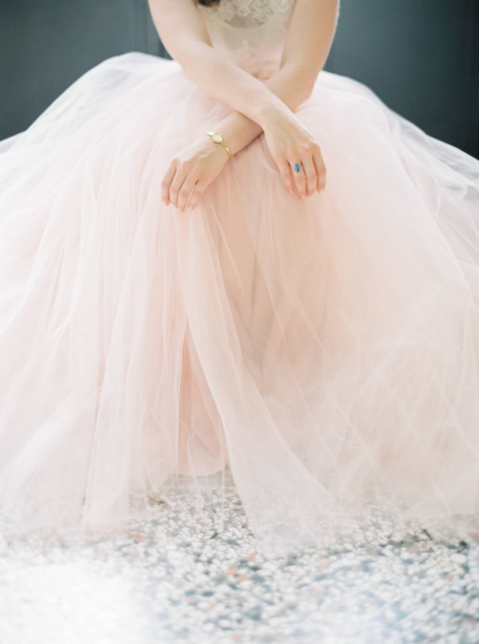 brautkleid wedding dress tüll tulle blush