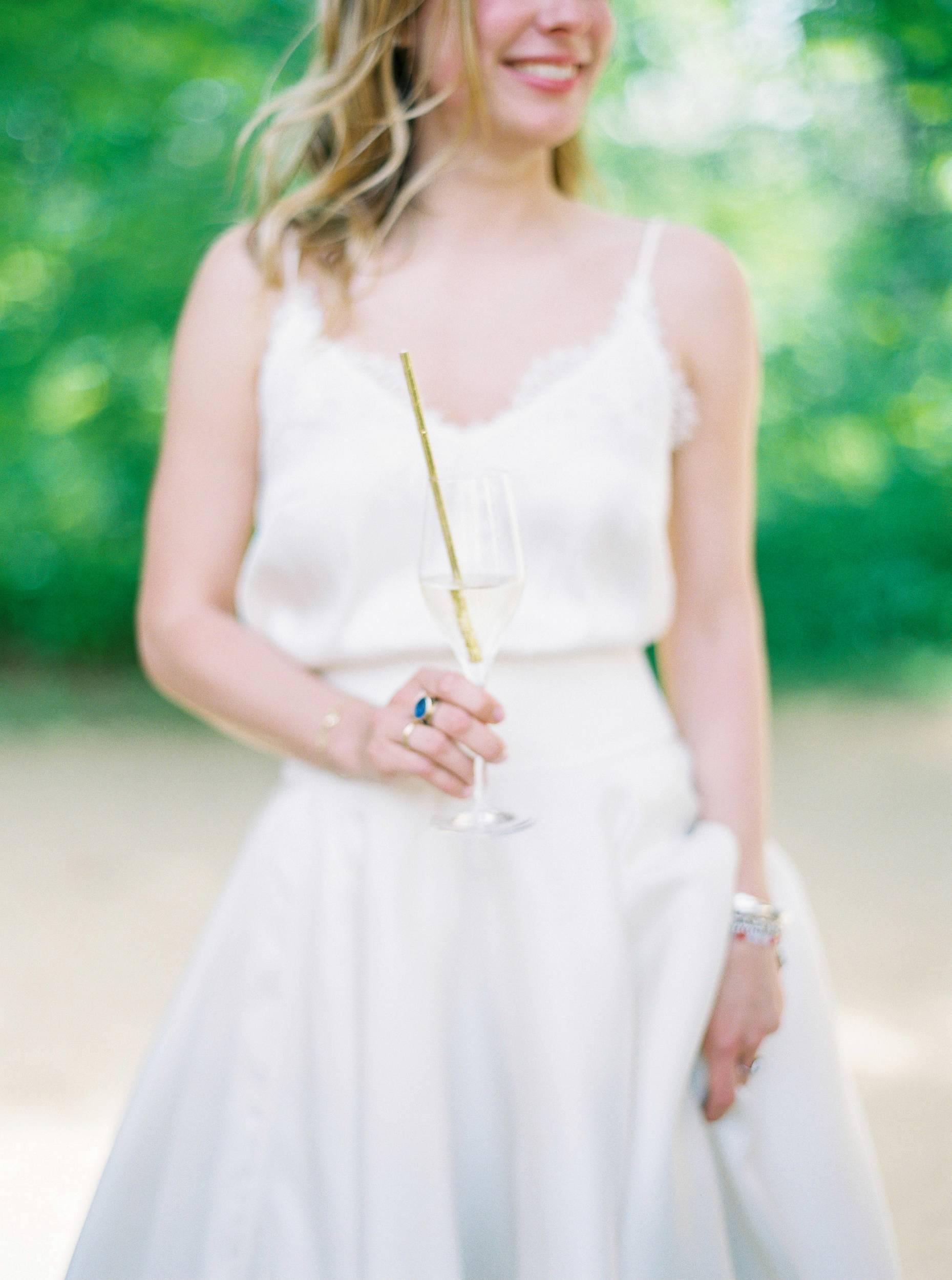 golden straw goldener strohhalm hochzeit wedding
