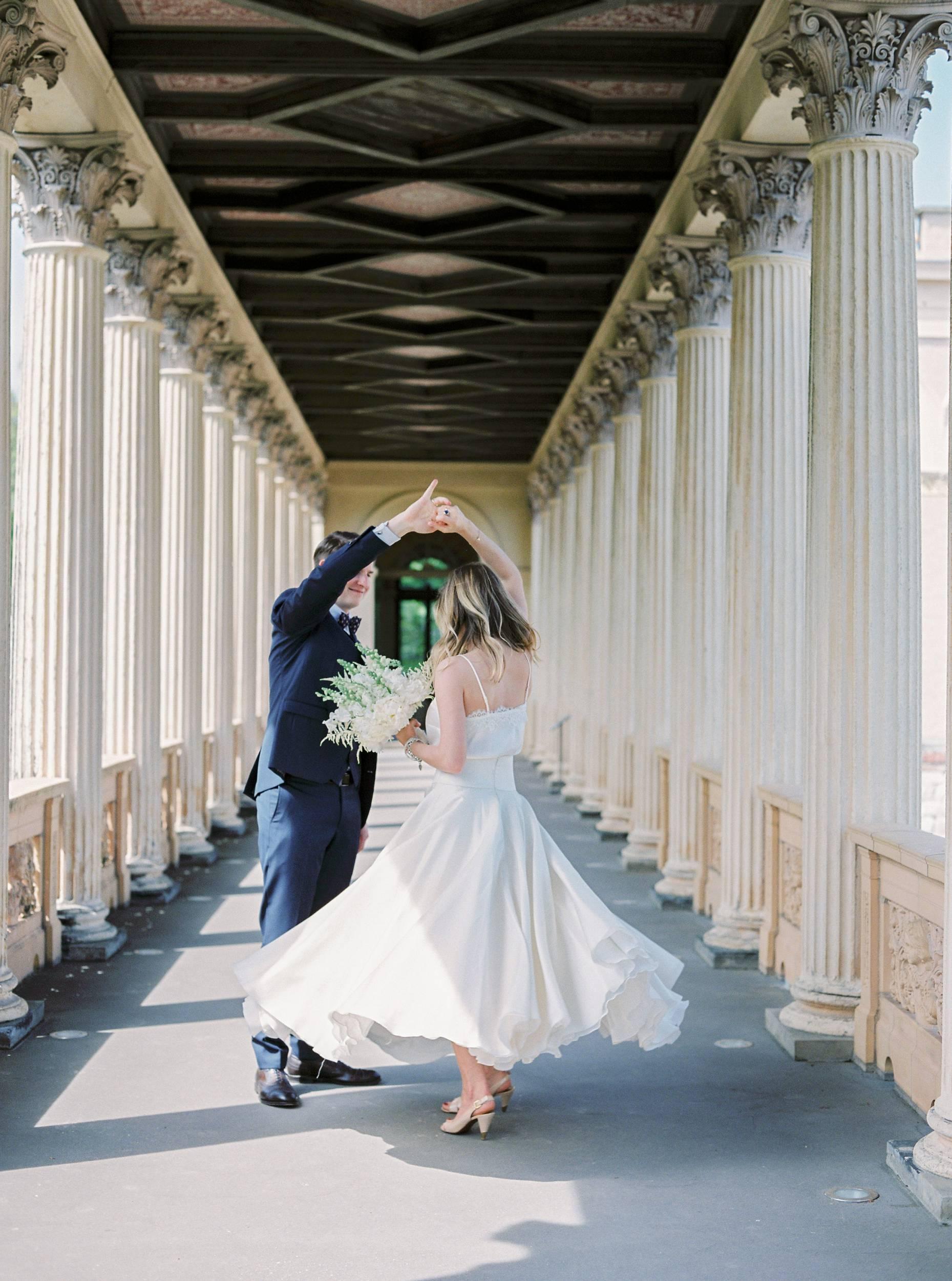 kaviar gauche wedding dress dance happy brautkleid
