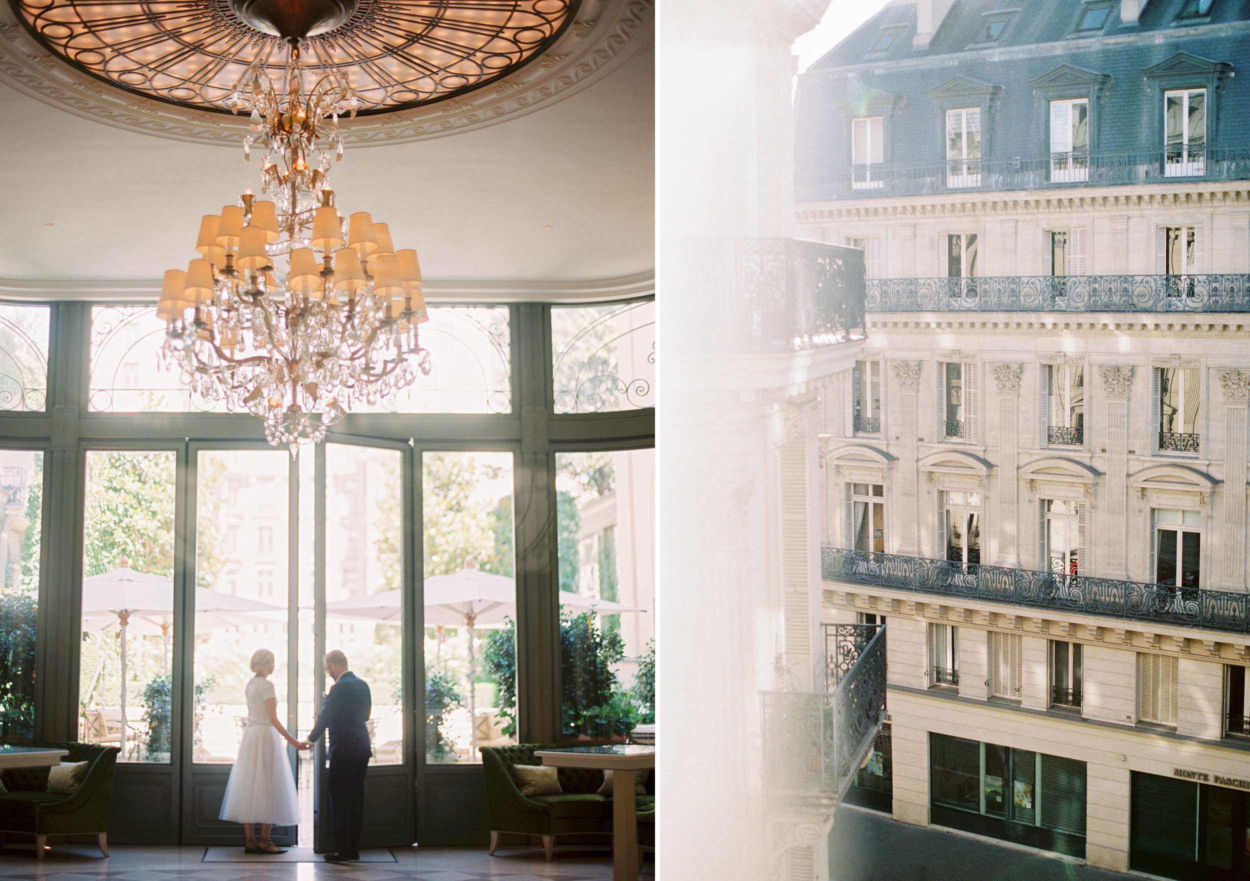 Paris Ritz wedding door