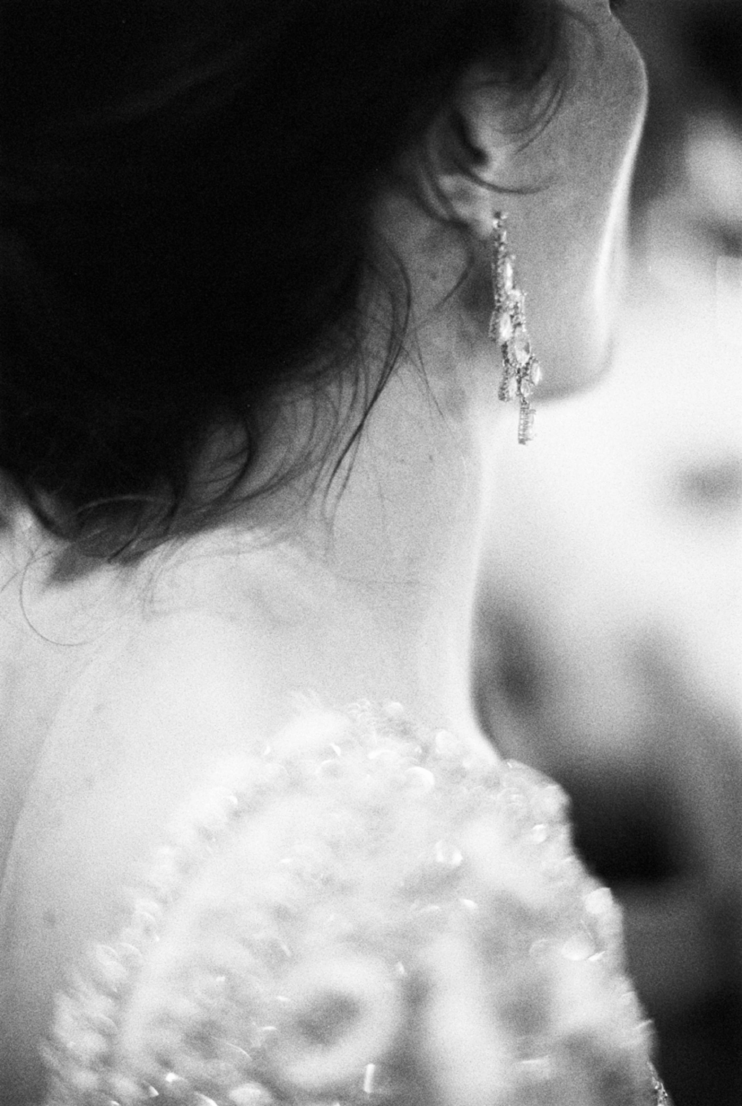 Braut Ohrring earring evening glamour